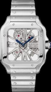 Relógio Santos de Cartier Esqueleto